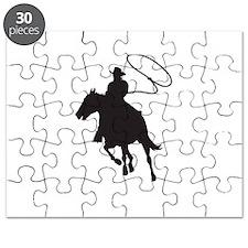 ROPING COWBOY Puzzle