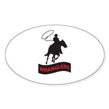 WRANGLERS MASCOT Decal