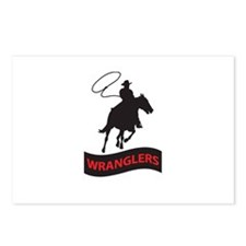 WRANGLERS MASCOT Postcards (Package of 8)