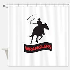 WRANGLERS MASCOT Shower Curtain