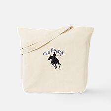 CALF ROPING Tote Bag