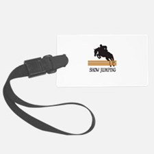 SHOW JUMPING Luggage Tag