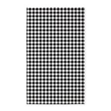 Black And White Gingham Area Rug
