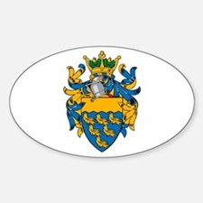 West Sussex County Council COA Oval Decal