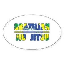 Buy BJJ Oval Decal