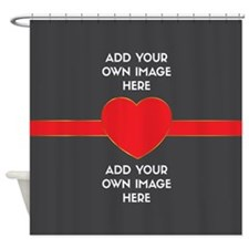 Lovers - Add Your Own Images Shower Curtain