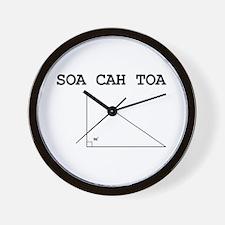 Soa Cah Toa Wall Clock