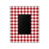 Gingham Picture Frames