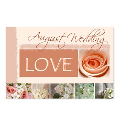 August Wedding Postcards (Package of 8)