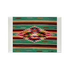 Cute Native american Rectangle Magnet (10 pack)