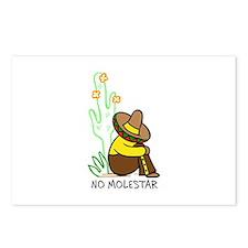 NO MOLESTAR Postcards (Package of 8)