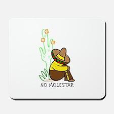 NO MOLESTAR Mousepad