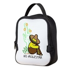NO MOLESTAR Neoprene Lunch Bag