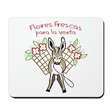 FLORES FRESCAS Mousepad