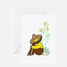 SIESTA TIME Greeting Cards