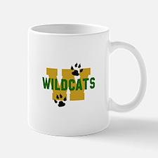W WILDCATS Mugs