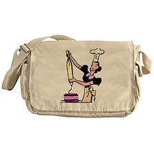 Cake Decorator Messenger Bag