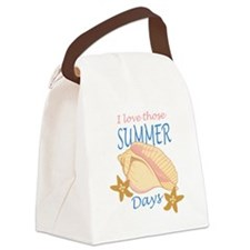 LOVE THOSE SUMMER DAYS Canvas Lunch Bag