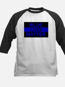 Blue Lives Matter Stripe Tee