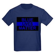 Blue Lives Matter Stripe T