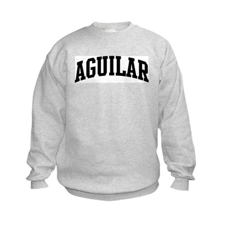 AGUILAR (curve-black) Kids Sweatshirt
