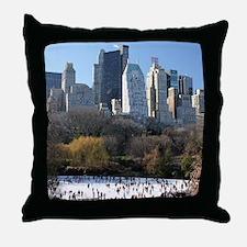 New York City Xmas - Pro Photo Throw Pillow
