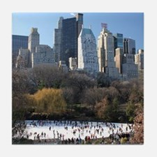 New York City Xmas - Pro Photo Tile Coaster