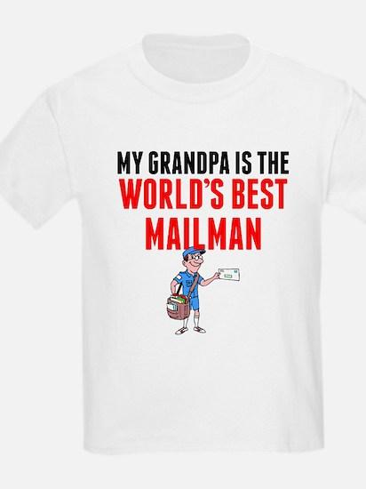 My Grandpa Is The Worlds Best Mailman T-Shirt