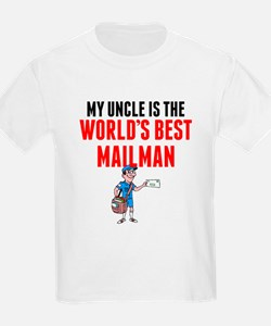 My Uncle Is The Worlds Best Mailman T-Shirt