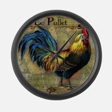 The Pullet Large Wall Clock