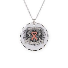 Uterine Cancer Victory Necklace