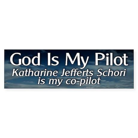 KJS Is My Co-Pilot Bumper Sticker