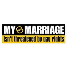 My Marriage Bumper Bumper Sticker