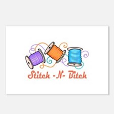 STITCH-N-BITCH Postcards (Package of 8)