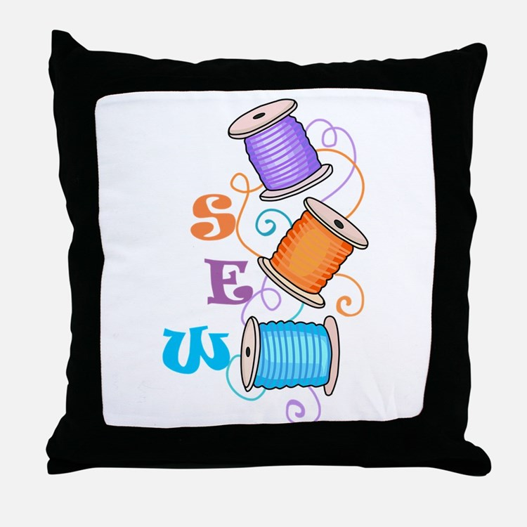SEW Throw Pillow