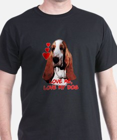 basset love T-Shirt