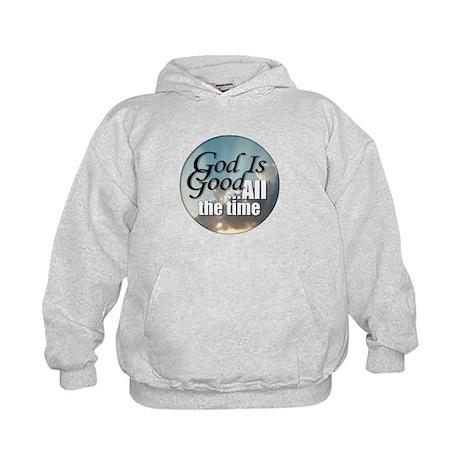 God Is Good Kids Hoodie