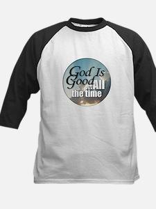 God Is Good Kids Baseball Jersey