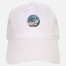 God Is Good Baseball Baseball Cap