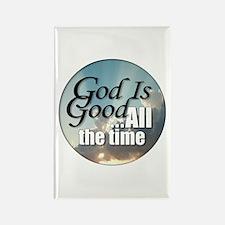 God Is Good Rectangle Magnet