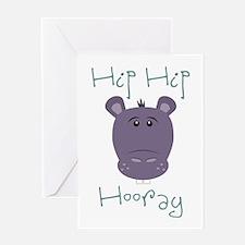 Hip Hip Hooray Greeting Cards
