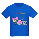I'm the Boss Kids Dark T-Shirt