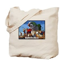 Quaker-Zilla Tote Bag