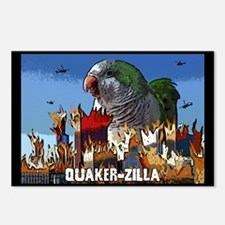 Quaker-Zilla Postcards (Package of 8)