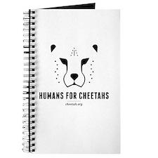 Humans For Cheetahs Blank Journal