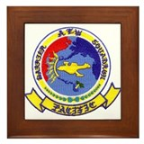 Navy squadron Framed Tiles