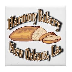 Harmony Bakery Tile Coaster