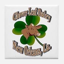 Clover Leaf Dairy Tile Coaster
