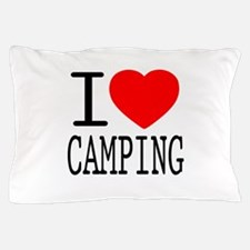 I Love | Heart Camping Pillow Case