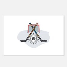HOCKEY MONTAGE Postcards (Package of 8)